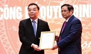 Bộ trưởng Chu Ngọc Anh nhận chức Phó bí thư Thành ủy Hà Nội