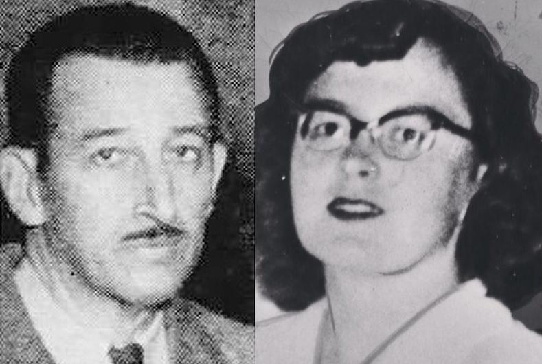Arnold Axilrod (trái) và Mary Moonen. Ảnh: New York Daily News.