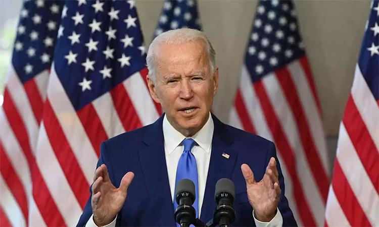 Ứng viên đảng Dân chủ Joe Biden phát biểu tại Philadelphia, bang Pennsylvania, ngày 20/9. Ảnh: AFP.