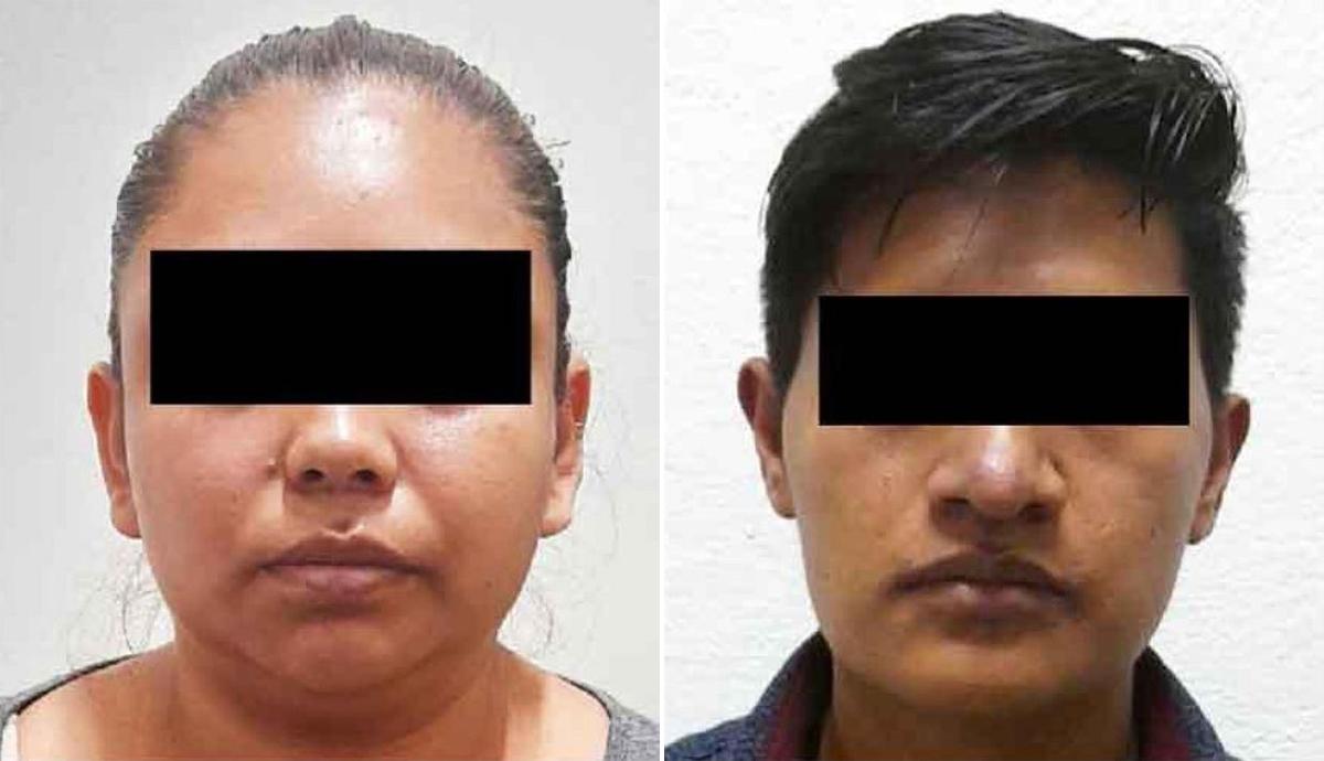 Bố và mẹ của bé Yaz, Rafael N.(phải) và Alejandra N. Ảnh: Fiscalia General/Newsflash.