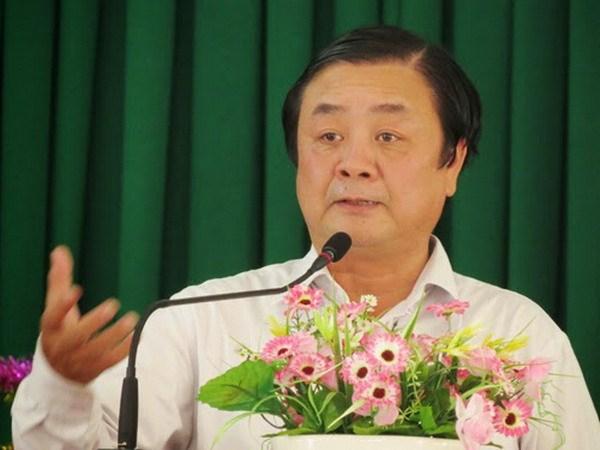 Ông Lê Minh Hoan. Ảnh: Cổng thông tin tỉnh Đồng Tháp
