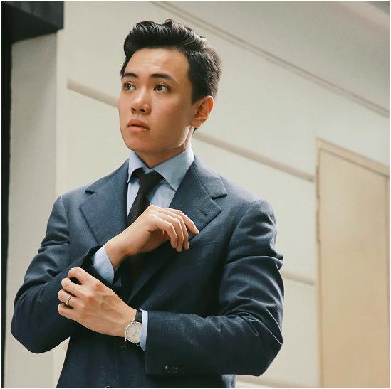 Anh Đặng Trần Tùng khuyên các bạn học sinh nên thi thử IELTS để biết được điểm mạnh, điểm yếu của mình.
