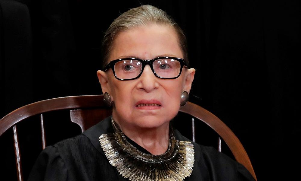 Thẩm phán Ginsburg tại thủ đô Washington của Mỹ hồi tháng 11/2018. Ảnh: Reuters.