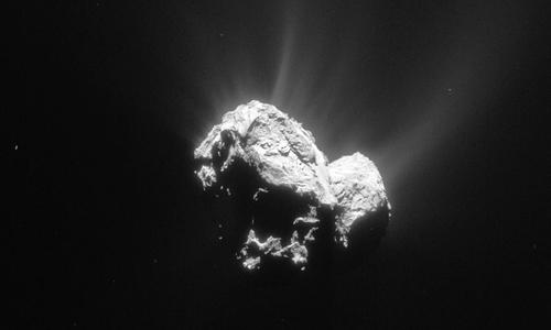 Lần đầu phát hiện cực quang trên sao chổi