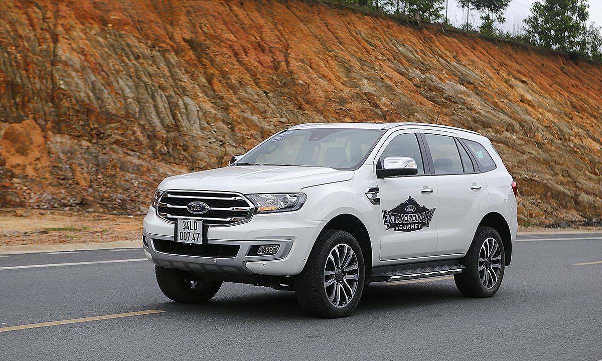Everest, mẫu xe tiên phong áp dụng loạt công nghệ an toàn mới lên SUV. Ảnh: Đức Huy