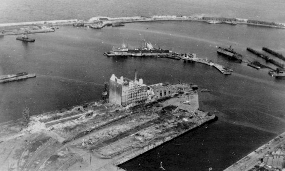 Cảnh Tallinn ngày 1/9/1941, sau khi bị quân Đức chiếm. Ảnh: TASS.