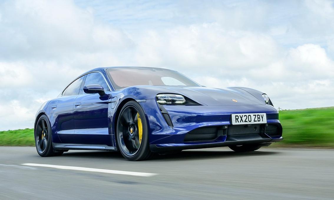 Taycan Turbo - một trong ba phiên bản của Taycan. Ảnh: Porsche