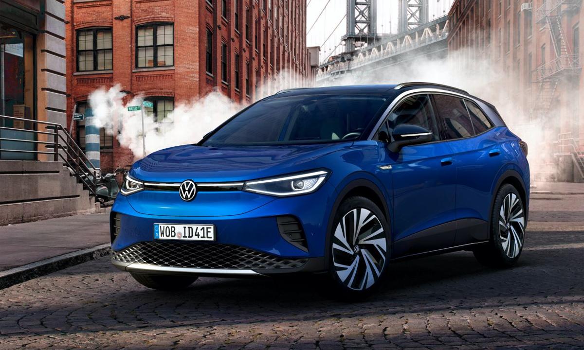 ID.4 - mẫu crossover chạy điện sẽ là đối thủ mới của CR-V và RAV4. Ảnh: Volkswagen