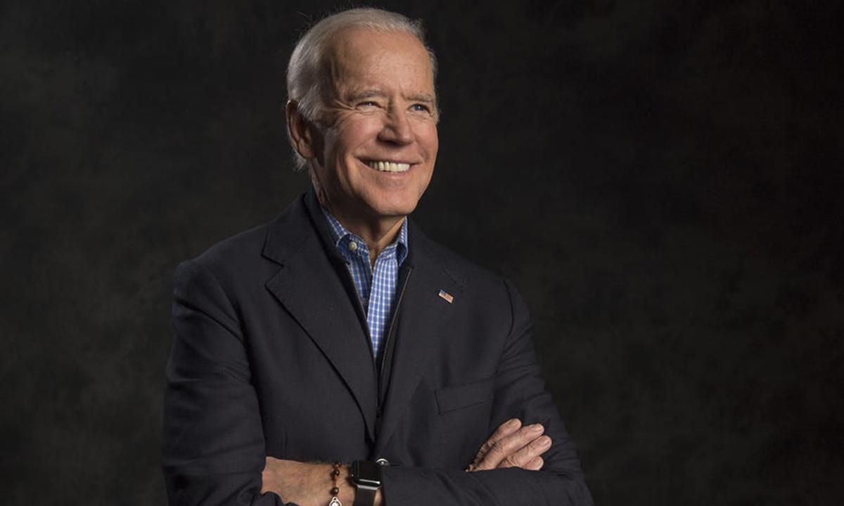 Ứng viên Joe Biden tại New York hồi tháng 11/2017. Ảnh: USA Today.