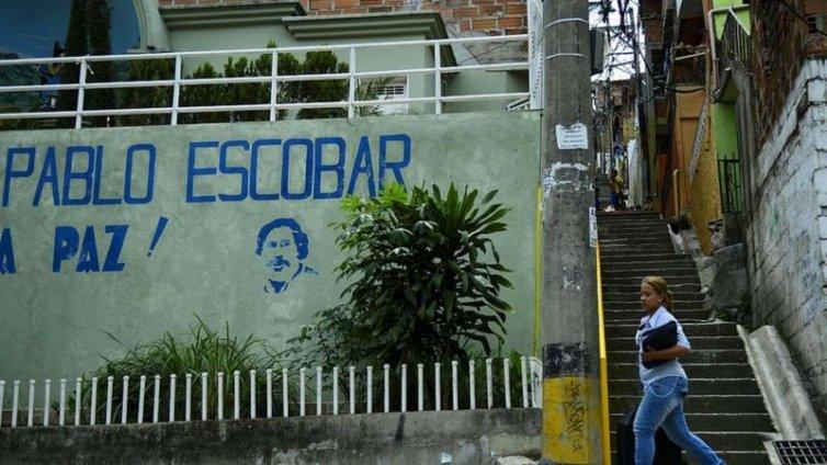 Khu phố mà Pablo Escobar từng sống ở thành phố Medellin. Ảnh: AFP.