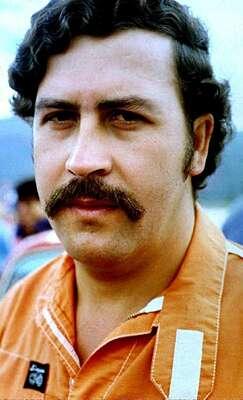 Trùm ma túy Colombia Pablo Escobar. Ảnh: AFP.