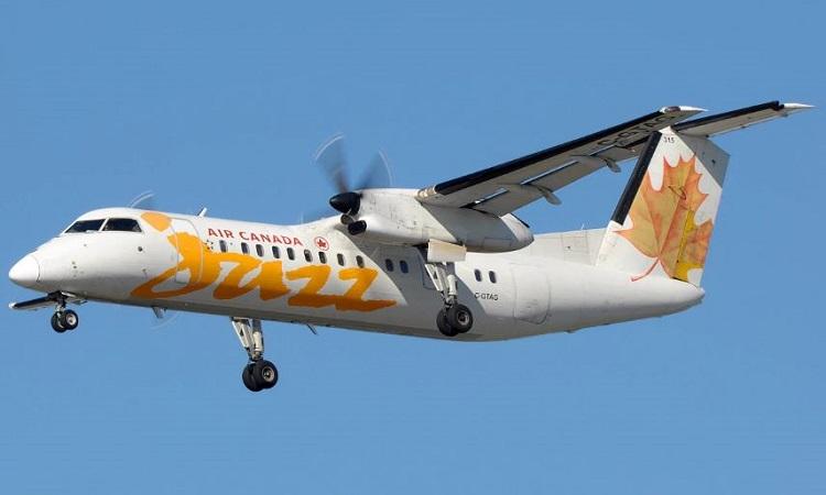 Hệ thống truyền động hydro sẽ được lắp trên máy bay De Havilland Canada DCH-8 (Dash-8) Q300. Ảnh: New Atlas.