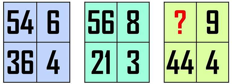 Bốn câu đố Toán học - 2