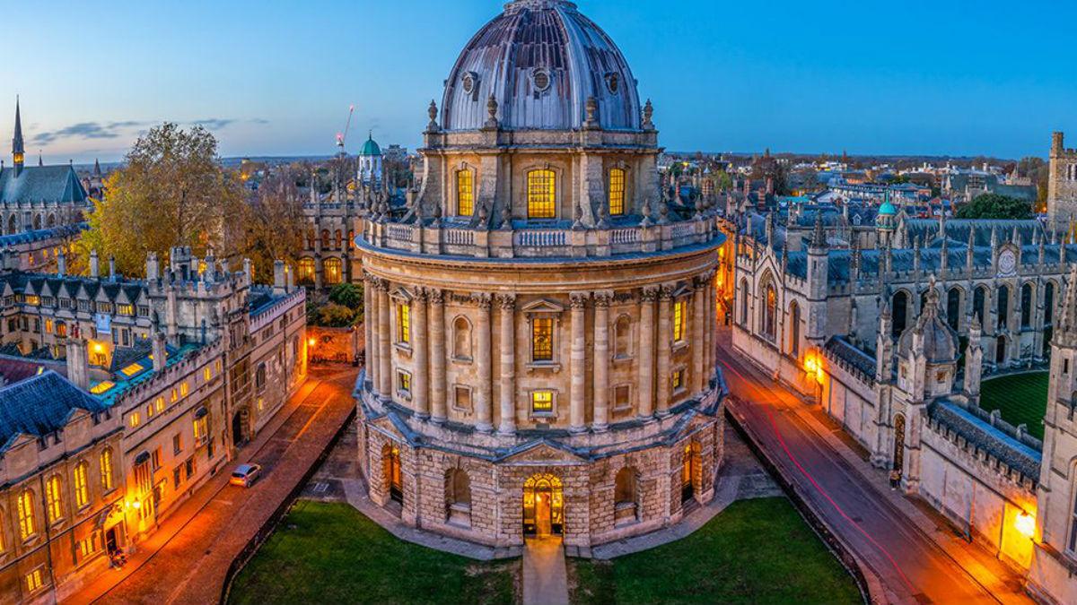 Một góc Đại học Oxford - trường tốt nhất thế giới do THE xếp hạng. Ảnh: University of Oxford.