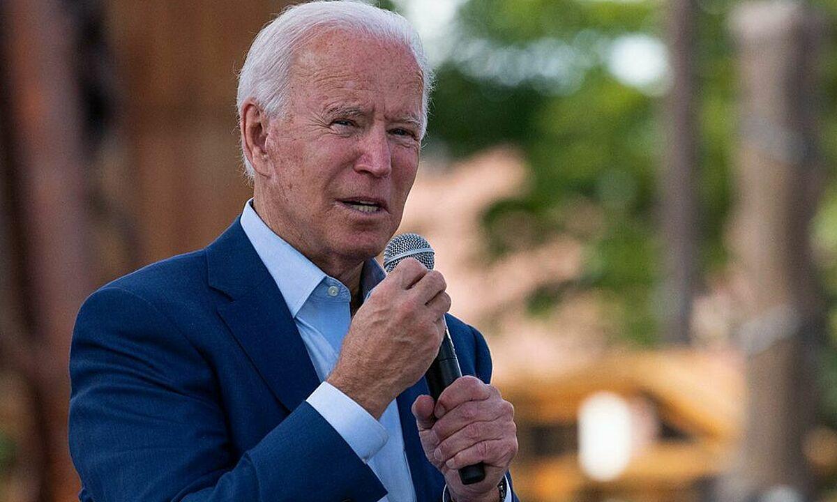 Joe Biden tại Bắc Carolina ngày 23/9. Ảnh: AFP.