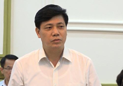 Thứ trưởng Giao thông Vận tải Nguyễn Ngọc Đông. Ảnh Xuân Hoa.