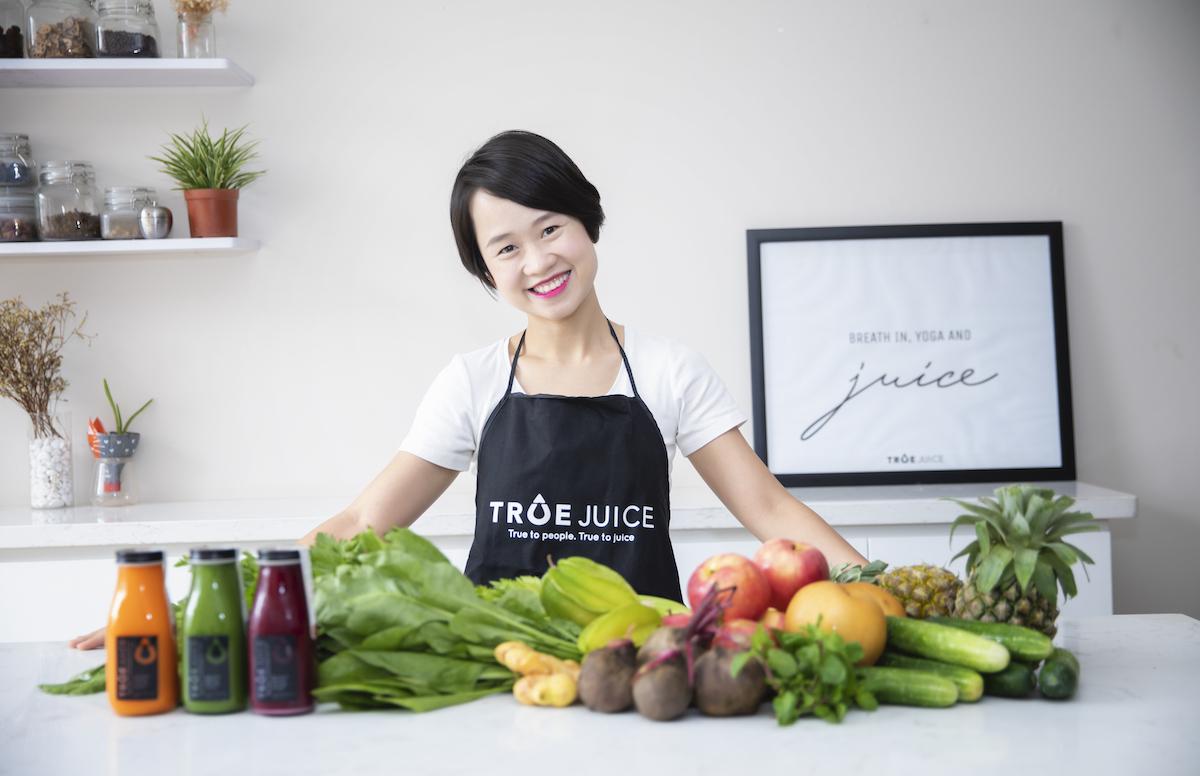 Kiến thức và kinh nghiệm tích lũy tại Anh giúp chị Huyền vững vàng hơn khi khởi nghiệp.