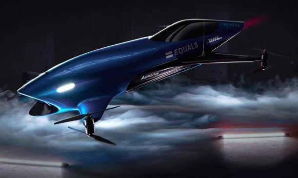 Một mẫu xe bay được thiết kế cho giải đua. Ảnh: Airspeeder.
