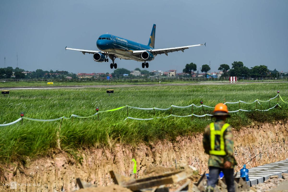 Quy hoạch điều chỉnh sân bay Nội Bài đang được Bộ Giao thông Vận tải xây dựng và dự kiến trình Thủ tướng duyệt trong năm nay. Ảnh: Giang Huy.