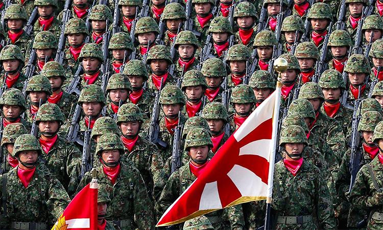 Đặc nhiệm của lực lượng phòng vệ Nhật Bản. Ảnh: AFP.