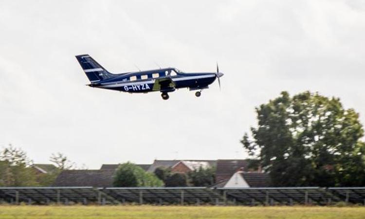 ZeroAvia trang bị pin nhiên liệu hydro cho máy bay thương mại Piper M-class. Ảnh: ZeroAvia.