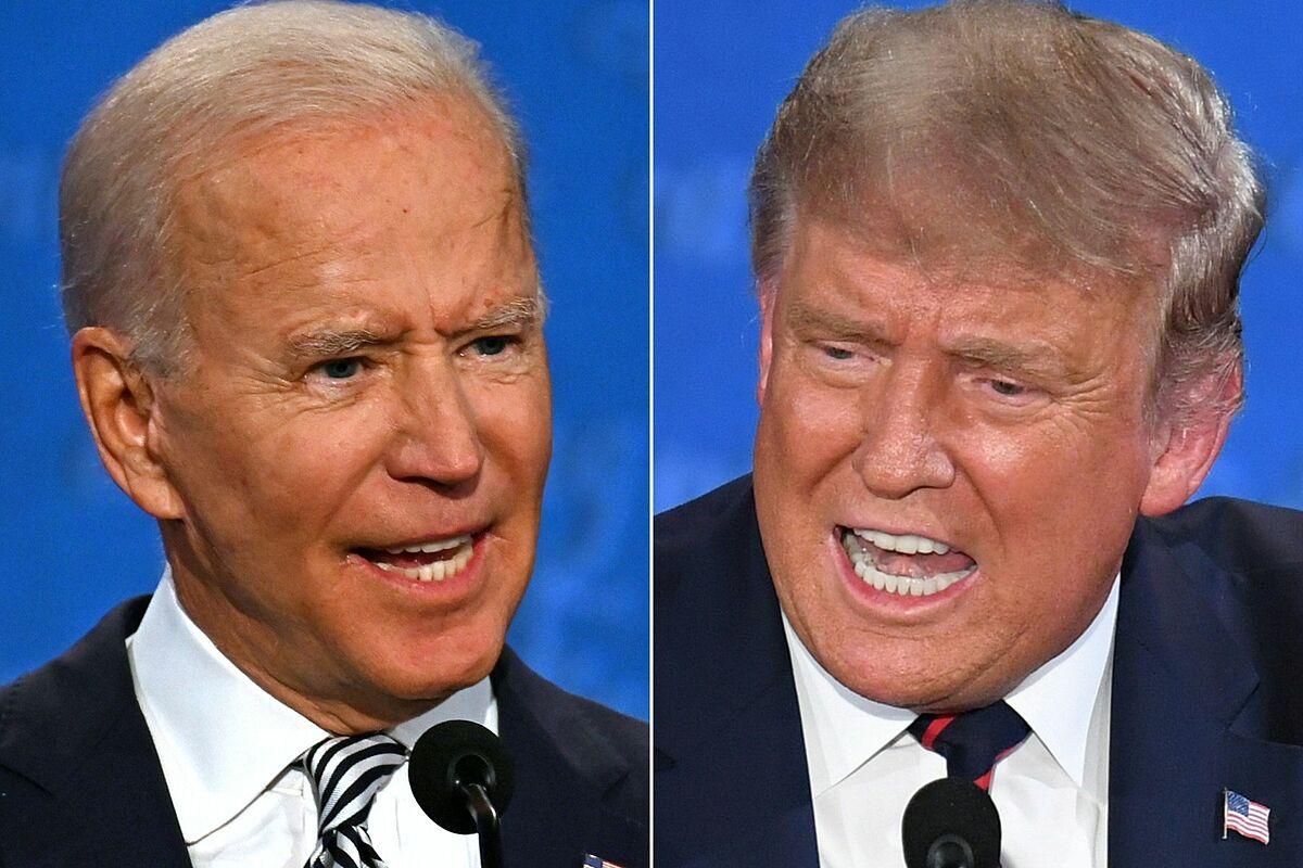 Ngôn ngữ cơ thể Trump - Biden trong cuộc so găng