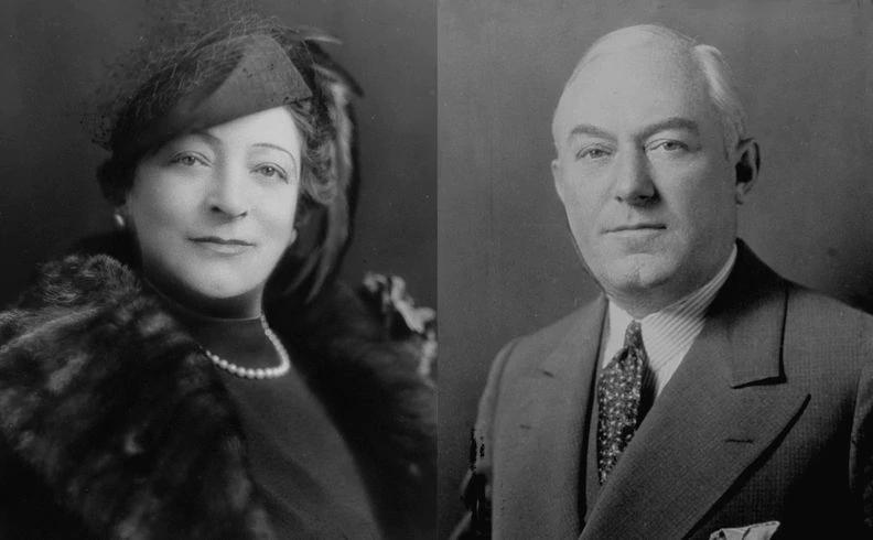 Marion Langford (trái) và chồng Albert Langford. Ảnh: New York Daily News.