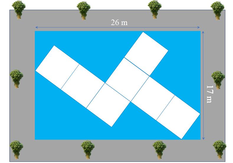 Bài toán cầu kính 7 ô vuông