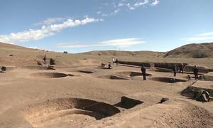 Phát hiện tàn tích khu định cư 8.400 năm tuổi