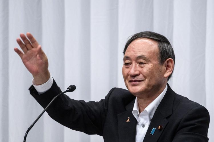 Thủ tướng Nhật Bản Suga. Ảnh: Reuters.