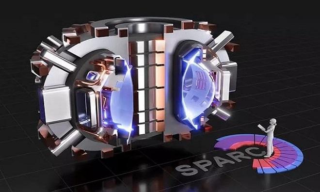 Mô hình lò phản ứng Sparc. Ảnh: MIT.
