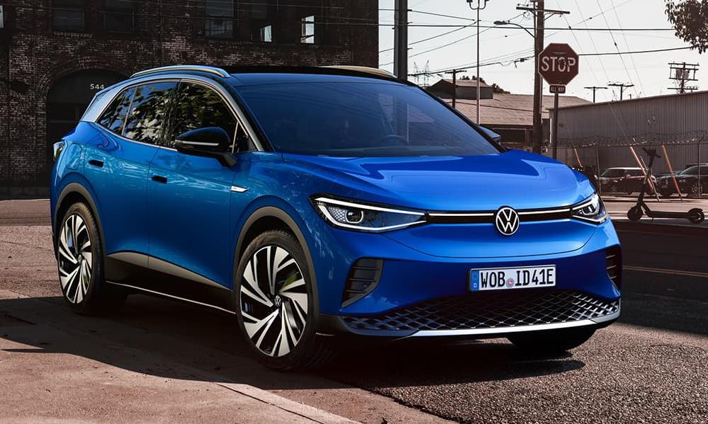 ID.4 đã bán ở cả châu Âu và Mỹ, cạnh tranh với các đối thủ dùng động cơ đốt trong. Ảnh: Volkswagen
