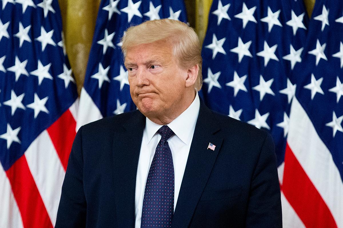 Tổng thống Trump tại Nhà Trắng hồi tháng 6. Ảnh: Reuters.