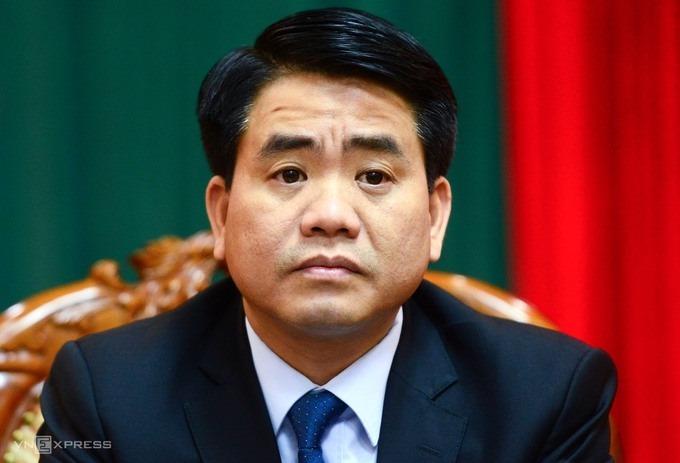 Ông Nguyễn Đức Chung, cựu chủ tịch UBND Hà Nội. Ảnh: Giang Huy