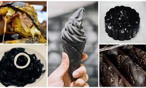 Những món ăn màu đen gây sốt