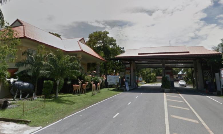 Sở thú Songkhla ở miền nam Thái Lan. Ảnh: Google Maps.