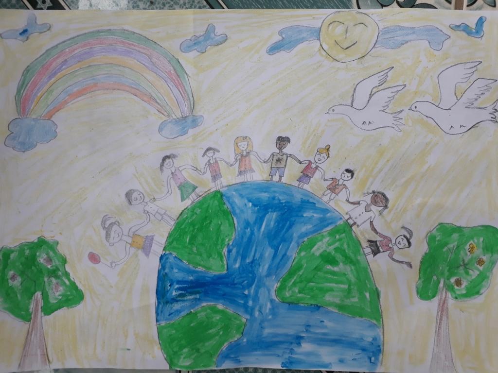 Mong ước thế giới hòa bình