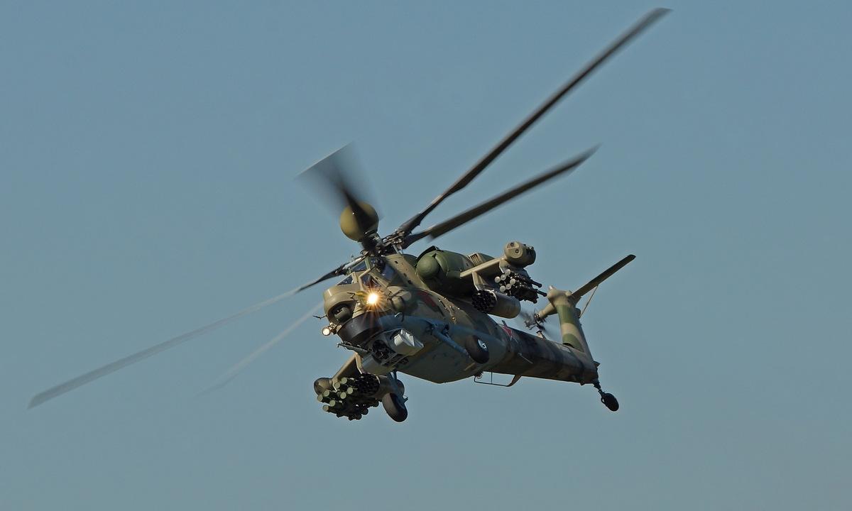 Trực thăng Mi-28NM Nga bay thử năm 2019. Ảnh: Russian Planes.