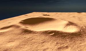 Mô phỏng địa điểm hạ cánh tương lai của robot sao Hỏa