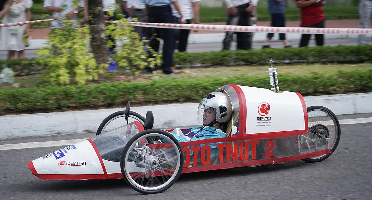 Mẫu xe tham dự cuộc thi năm 2020. Ảnh: Honda.