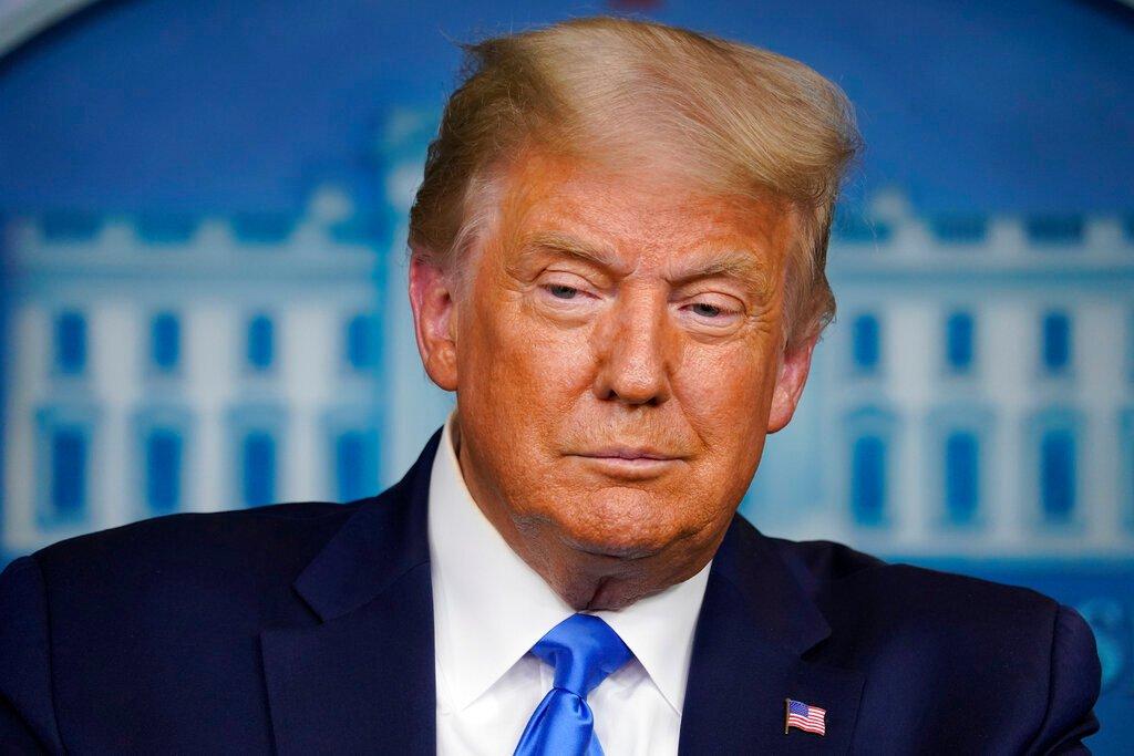 Tổng thống Trump tại Nhà Trắng ngày 23/9. Ảnh: AP.