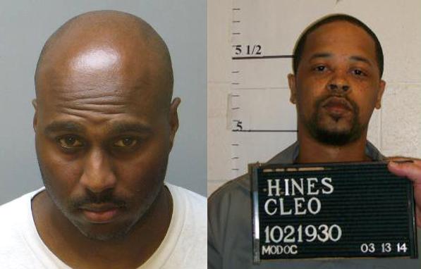 Paul White (trái) và Cleo Hines. Ảnh: St. Charles Police.