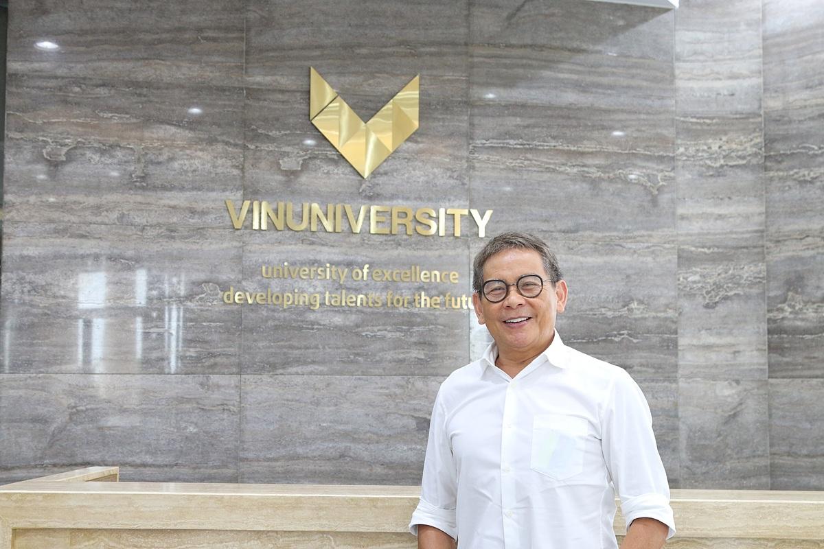 Giáo sư Dương Nguyên Vũ hiện là Viện trưởng danh dự Viện Kỹ thuật và Khoa học Máy tính, trường đại học VinUni. Ảnh: VinUni.