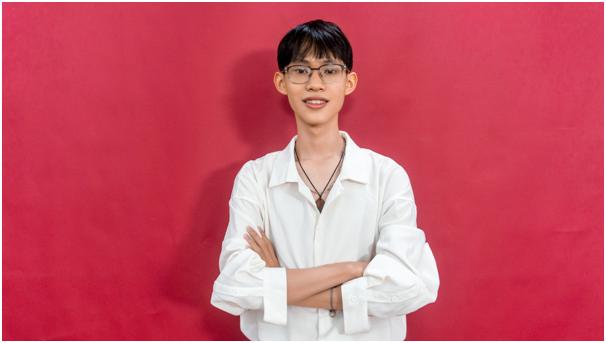 Nguyễn Đức Duy cựu học sinh THPT chuyên Lê Khiết tỉnh Quảng Ngãi. Ảnh: Đức Duy.