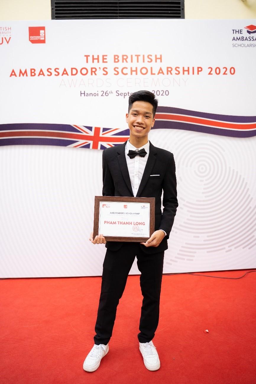 Phạm Thành Long, tân sinh viên ngành Điện toán đám mây tại BUV. Ảnh: BUV.