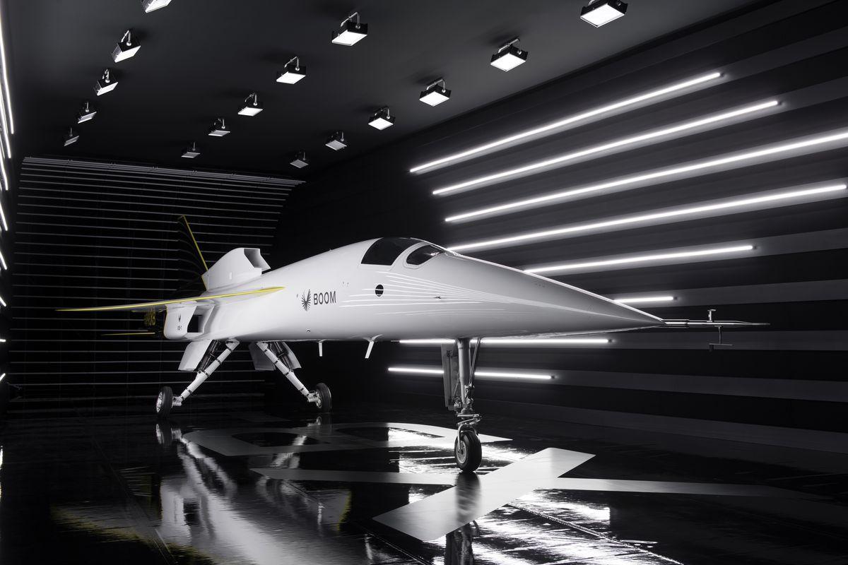 Máy bay XB-1 sẽ cất cánh năm sau. Ảnh: Boom Supersonic.