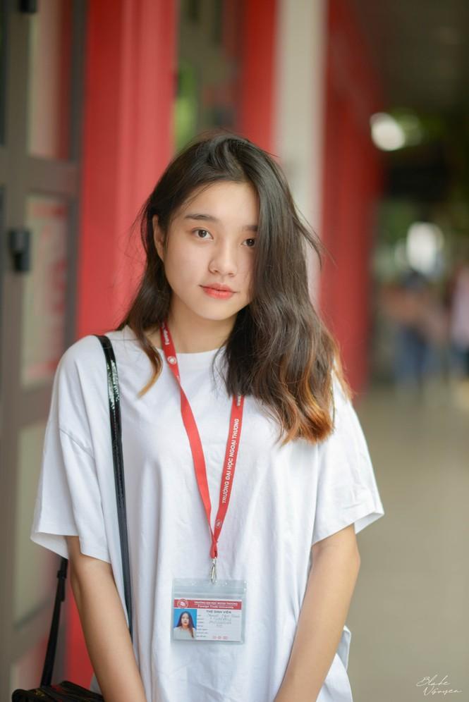Nguyễn Ngọc Khanh nhập học Đại học Ngoại thương. Ảnh: FTU Times