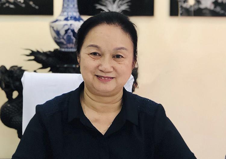 Cô Phan Phương Dung, thành viên Hội đồng thẩm định sách Tiếng Việt 1. Ảnh: Nhân vật cung cấp.