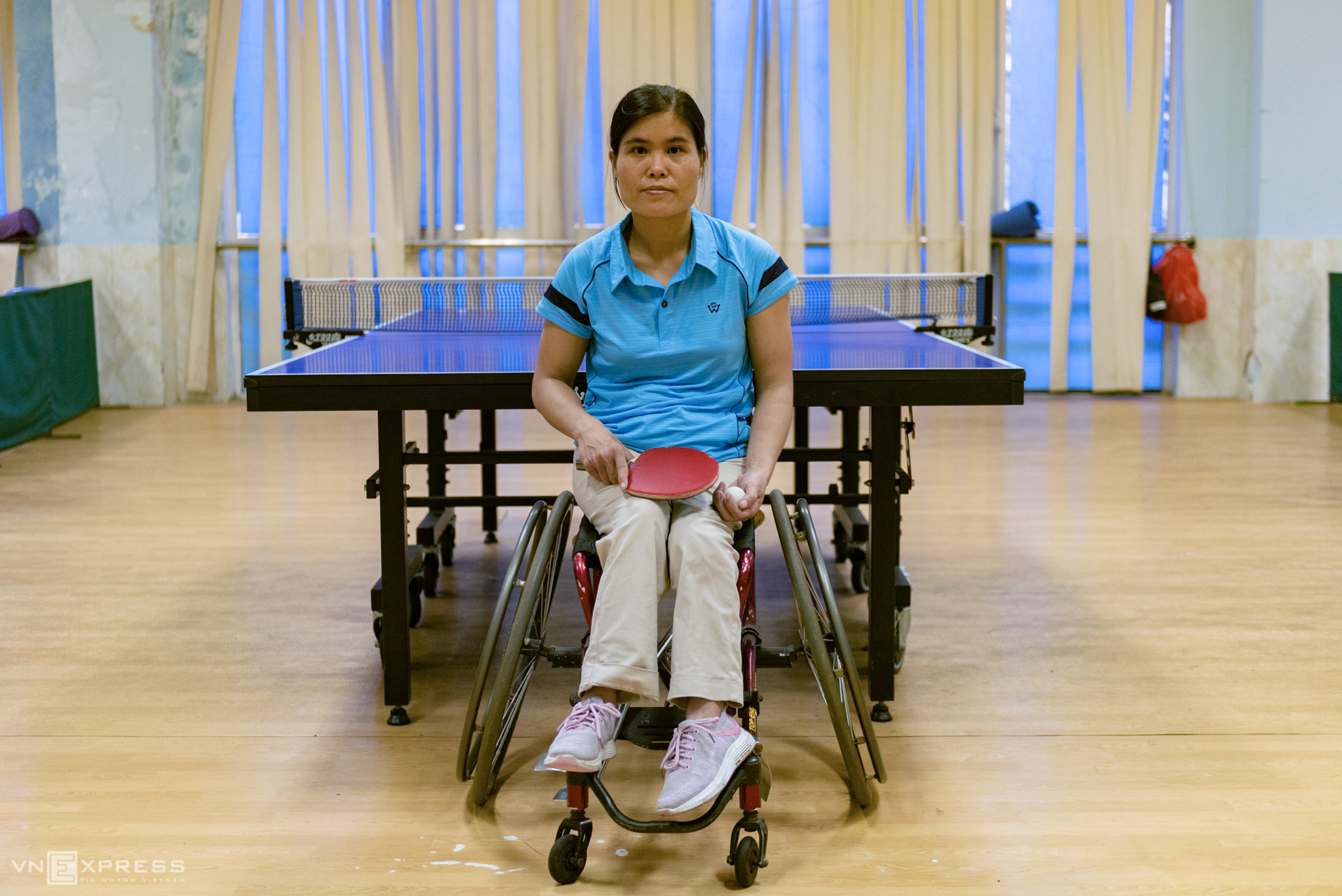 Vietnamese disabled athletes warm up for national games