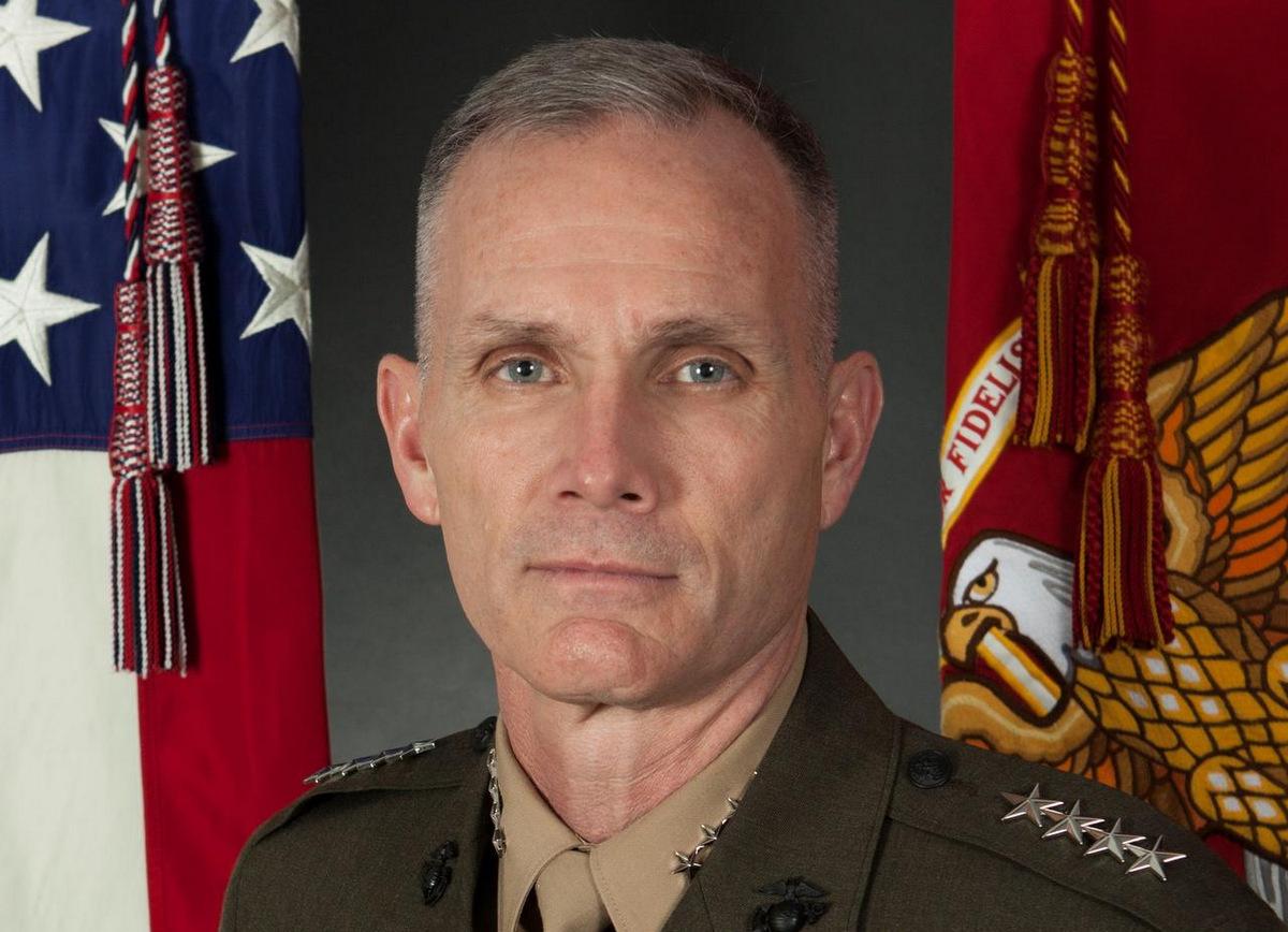 Tướng Thomas hồi năm 2018. Ảnh: USMC.